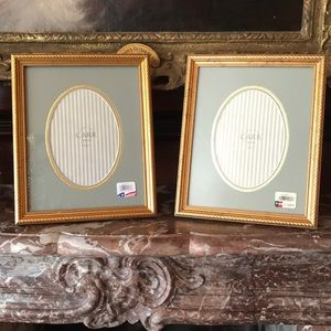 Two Carr Picture Frames